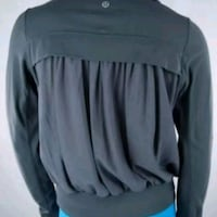 black and gray long sleeve shirt Burnaby, V3N 4J5