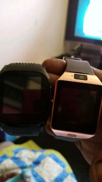 black and red smart watch Coram, 11727