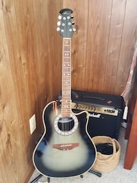Celebrity ovation electric acoustic guitar