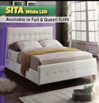 L.E.D Upholstered Bed On Sale! New York, 11423