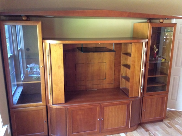 Wall Unit Teak Wood From Scan Furniture Purchase Price 4500 00
