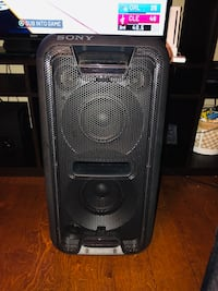 Sony speaker great for party's and chilling out. Price is negotiable  Copperas Cove, 76522
