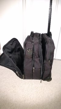 rolling laptop bag / overnight bag (luggage)