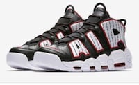 Black-and-red uptempos  13 mi