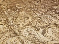 white and brown floral area rug Flint, 48532