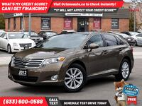 2012 Toyota Venza LE Accident-Free 1-Owner, Scarborough