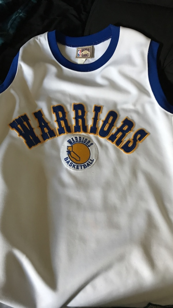 Used Warriors Jersey for sale in Hayward - letgo ae45539ec