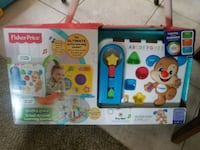 white, blue, and red Fisher-Price learning toy box Yucaipa, 92399