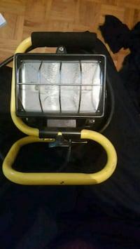 black and yellow outdoor light setup  Ajax, L1S 5H5