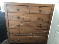 Beautiful wooden 6 drawer dresser. Calgary, T3K 2X3