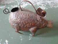Metal pig watering can  Palm Bay, 32905