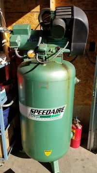 green and black Coleman air compressor HERNDON