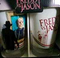 Brand New Fred and Jason Glass Set  Bunker Hill, 25413