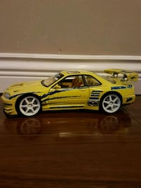 Nissan gtr r34 die cast metal car  Surrey, V4N 5M2