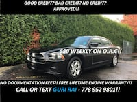 2014 Dodge Charger SE + NO EXTRA FEES + FREE LIFETIME ENGINE WARRANTY! - $18887 (NO/BAD CREDIT APPROVED!!) Surrey