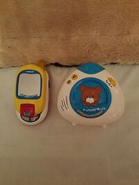two white and yellow vtech musical toys Hertford, 27944