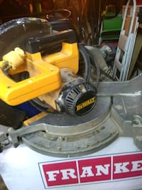 yellow and black DeWalt miter saw Clarksville, 37042