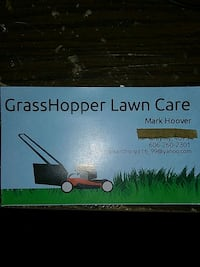 Lawn mowing Gray