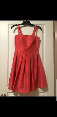 Coral Taffeta Dress Edmonton, T6M 2M6