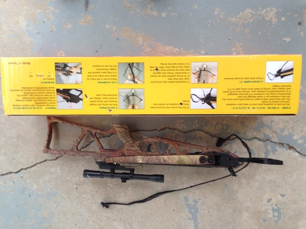 150 lb. Crossbow with 2 bolts