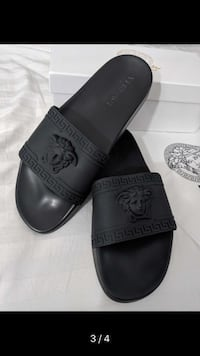 Men's Versace Slides Real with receipt designer slipper luxury  Toronto, M1B 2S7