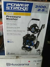 Power stroke 3100 Psi gas powered pressure washer