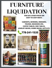 NEW FURNITURE LIQUIDATION PIECES STARTING AT ONLY $5