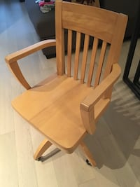 brown wooden windsor rocking chair 3736 km