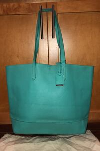 Cole Haan large green tote