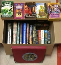 23 Fantasy Novels and Medieval Books For Sale