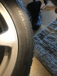 In Mint Conditions - Four winter tires with infinity rims  Ottawa