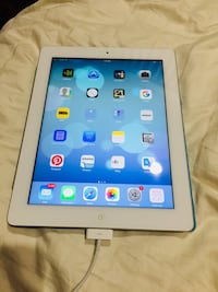 white iPad with black case Rockville