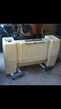 100 gallon tank from truck mount carpet cleaner
