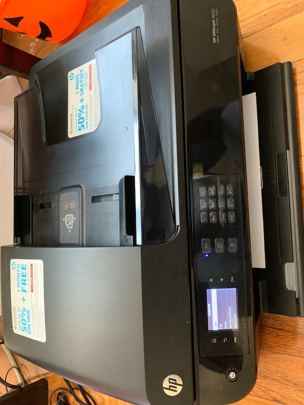 HP Officejet 4630 e-All-in-One Printer with INK cartridges