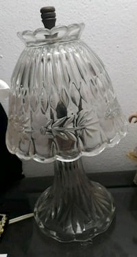 clear cut glass table lamp Hialeah, 33010