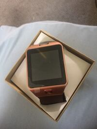 Gold veezy gear s smart watch with box Brentwood, 20722