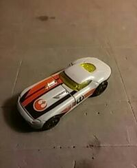 orange and white Star Wars Rebel sports coupe model Clarksville