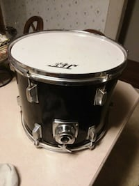Jet percussion drum