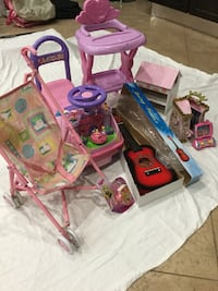 Disney musical Ride on, baby doll chair.....   all for $25 Los Angeles, 90034