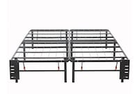 King metal bed frame steel Falls Church, 22041