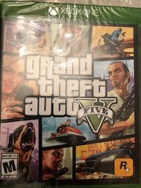 Grand Theft Auto Five Xbox 360 game case Manalapan, 07726