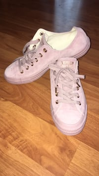Brand New Pink Leather Converse Allendale, 49401