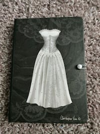 Wedding Dress Notebook with Closure - Great Gift!  Las Vegas, 89108