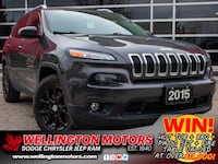 2015 Jeep Cherokee North --> New Front + Rear Brakes !! Guelph