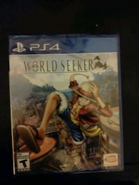 One piece world seeker(brand new)  Arlington, 22203