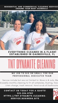 TNT Dynamite Cleaning Service  Gainesville, 32607