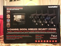 Used SecurityMan Security System. Wireless system Good condition. Norfolk, 23513