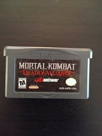 Gameboy Advance Mortal Kombat Deadly Alliance  Vaughan, L4L