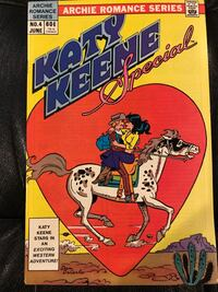 Archie Romance Series Katy Keene Special Vol 1, #4, Jun '84 564 km
