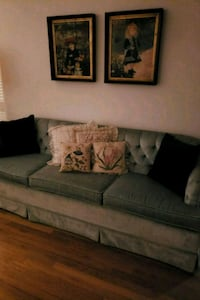 gray fabric 2-seat sofa Annandale, 22003